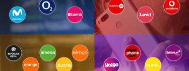 El 91% del mercado móvil en manos de cuatro operadores: así se lo reparten Vodafone, Orange, Movistar y MasMóvil