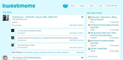 Tweetmeme, el memetracker de Twitter