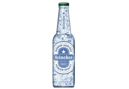 Heineken lanza una botella con el avatar de todos sus fans: Your Heineken Facebook