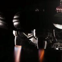 ¡Alucina! La creación más loca de Lazareth es una moto voladora con cuatro turbinas desplegables