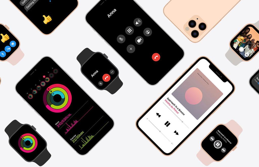 Apple promociona la integración entre iPhone y Apple Watch en una página especial de su web en EEUU