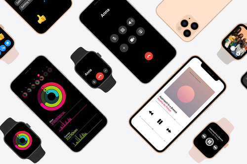Apple promociona la integración entre iPhone y Apple Watch en una página especial de su web en EEUU