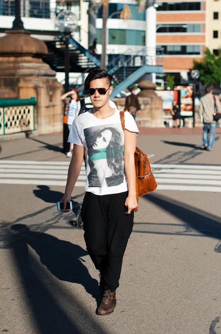 Street Style print shirt
