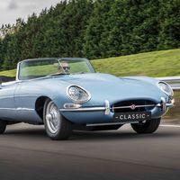 """Jaguar presenta su clásico-eléctrico """"E-type Zero"""", y todos sus carros serán eléctricos a partir de 2020"""