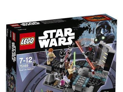 Duelo en Naboo, de Lego Star Wars, por 20,39 euros en Amazon
