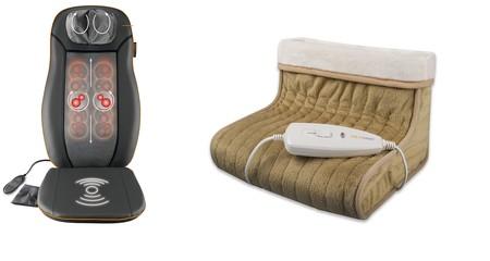 Dos ofertas del día en Amazon de Medisana para mantener los pies calientes o recibir masajes