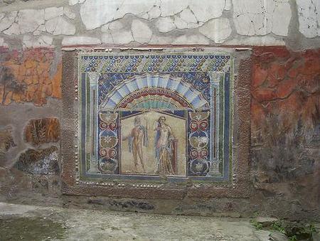 Reabre un bar de Pompeya, 2000 años después