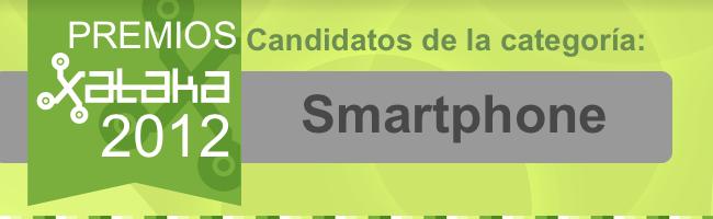 Mejor smartphone de 2012 candidatos