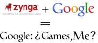Google invierte en Zynga: ¿Tendremos juegos en Google Me o se prepara Google Games?