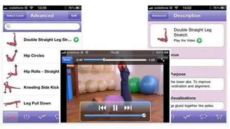 Pilates Lifestyle, tu entrenador de pilates gracias la ayuda de tu iPhone, iPod Touch o iPad