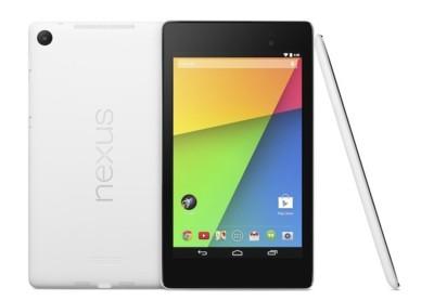 Aparece en Google Play el Nexus 7 en blanco y una funda. Ya a la venta el cargador inalámbrico desde España
