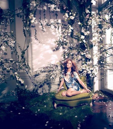 Vanessa Paradis es la flor más bella del jardín de H&M (y su colección Conscious)