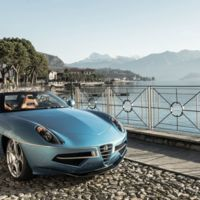 Touring Superleggera Disco Volante Spyder, sensualidad con los mejores genes italianos