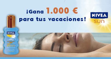 Club Trendencias Belleza y NIVEA SUN te dan la oportunidad de ganar 1.000 euros para tus vacaciones