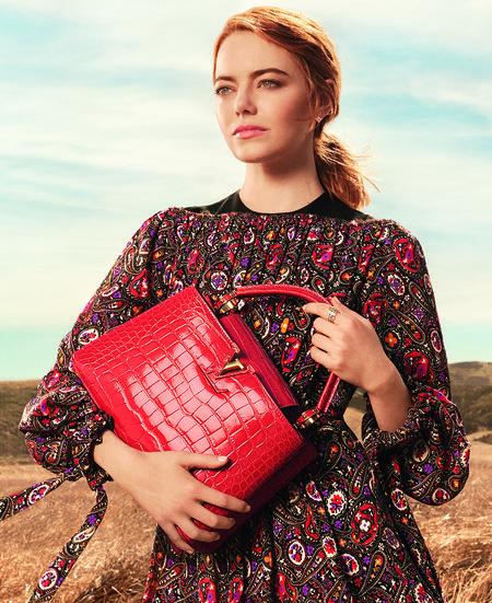 Campana De Emma Stone Para Louis Vuitton5