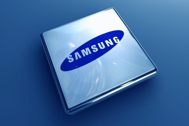 Samsung Chip Logo