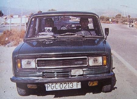 Radar móvil de tráfico - Guardia Civil