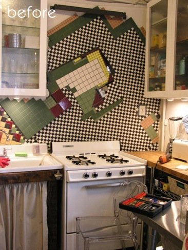 Antes y después: Un poco de orden en una cocina de alquiler