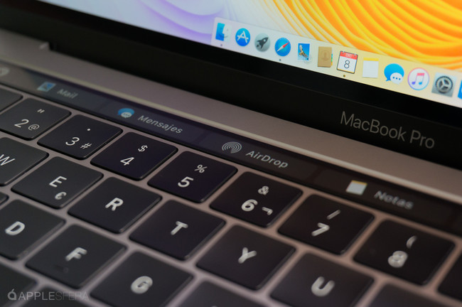 Touch Bar Macbook Pro 2016
