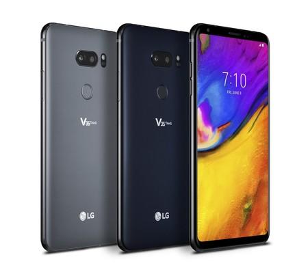 LG V35 ThinQ: un G7 con pantalla OLED sin notch, más memoria RAM y mejor cámara frontal