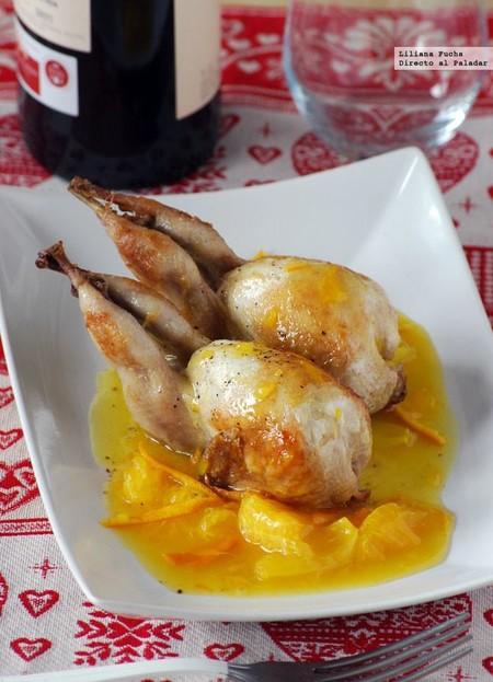 Codornices en salsa de mandarina y miel: receta para una ocasión especial