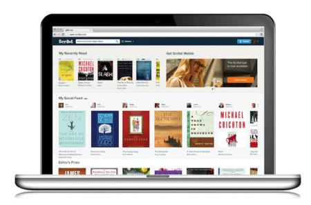 Scribd se lanza a la aventura del modelo de suscripción para leer libros
