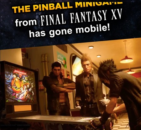 Un spin-off de Final Fantasy XV gratuito para Android, Justice Monsters Five