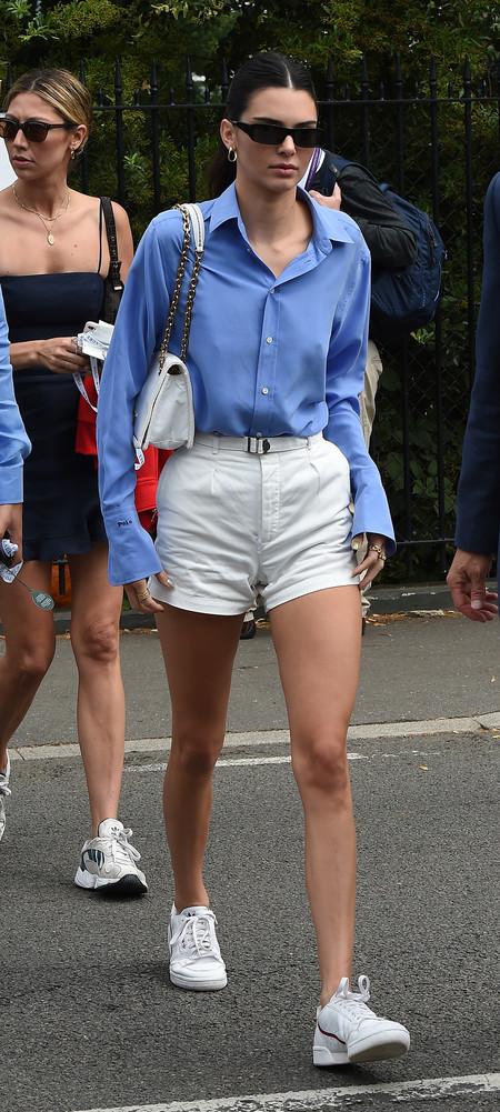 Hana Cross Kendall Jenner Wimbledon 02