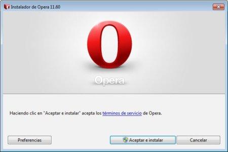 Opera lanzará una actualización, Opera 11.60 Tunny, antes de Wahoo