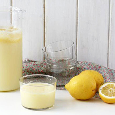 Granizado de limón, receta fácil y rápida con Thermomix (lista en 15 minutos)
