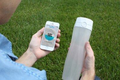 HidrateMe, un bidón inteligente que te ayuda a estar bien hidratado