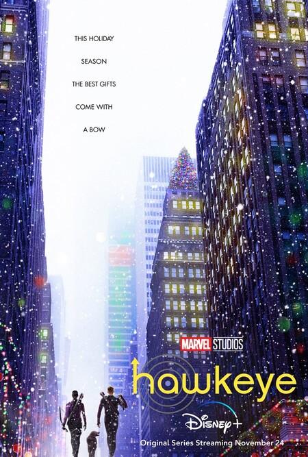Hawkeye Poster Oficial Disney Plus