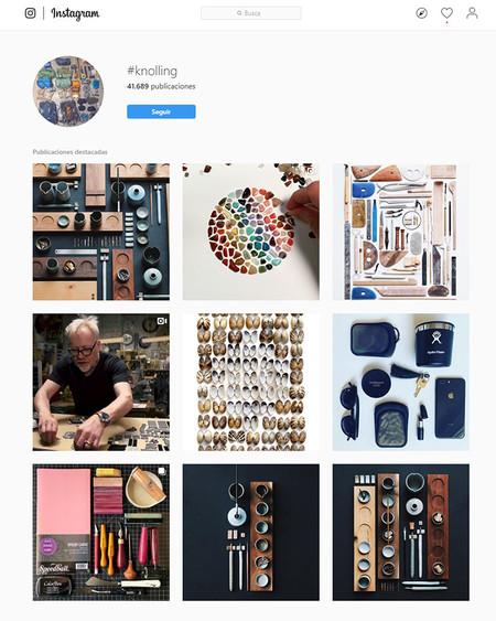 Knolling Instagram