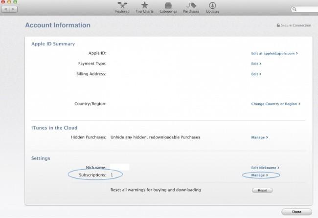 os x mavericks mac app store suscripciones aplicaciones