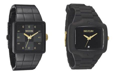 Colección Black-Gold de Nixon: todo al negro