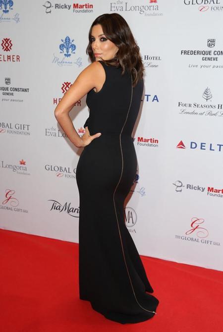 Global Gift Gala 2014 Eva Longoria Victoria Beckham