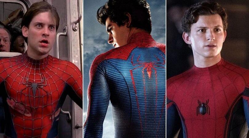 """¡Tobey Maguire y Andrew Garfield juntos! Filtran foto de """"Spider-Man: No Way Home"""""""