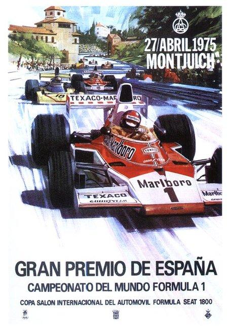 Gran Premio de España de 1975: el fin del sueño