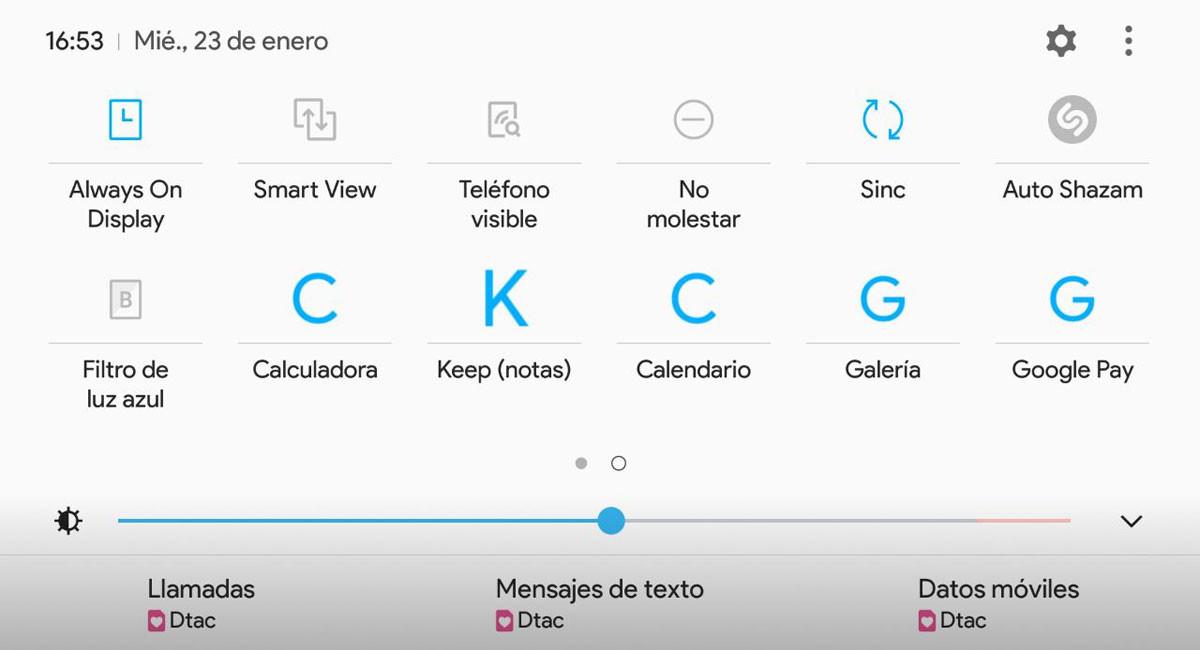 Añade accesos directos a cualquier app en los ajustes rápidos de Android con App Tiles