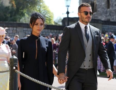 Boda del Príncipe Harry y Meghan Markle: Victoria Beckham hace gala de su sobriedad minimalista