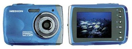 Medion MD86459, la cámara sumergible 'low cost' para las vacaciones