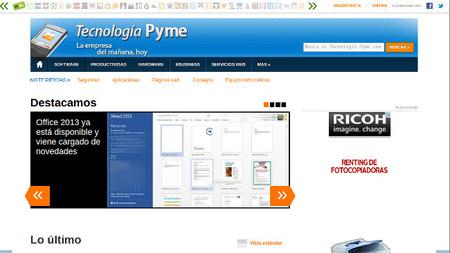 Estrenamos nuevo diseño Tecnología Pyme