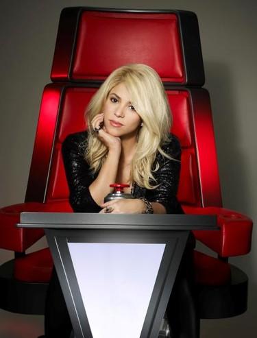 Shakira, ¿la silla en The Voice también tiene función paritorio?