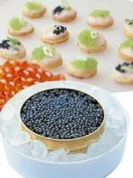 Homenaje a los grandes chefs con caviar iraní