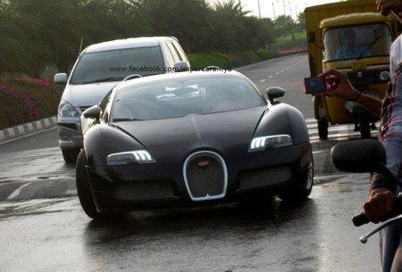 Bugatti Veyron, pasando un resalto
