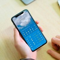Cómo tener alarma de lluvia en el iPhone sin instalar nada, sólo con la app del tiempo