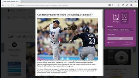 Web Clipper: así es la primera extensión de OneNote para Edge