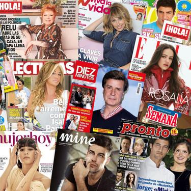 Una pata chula Real, el baby Bollo de Raquel y TutanKikón Matamoros: estas son las portadas de la prensa rosa de la semana del 12 de agosto