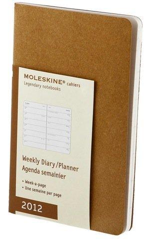 Moleskine se pone seria en sus nuevas agendas 2012