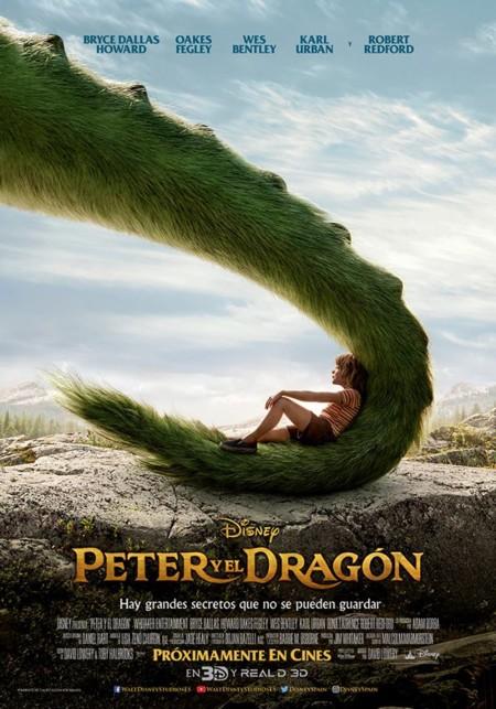 Nuevo cartel de Peter y el Dragón